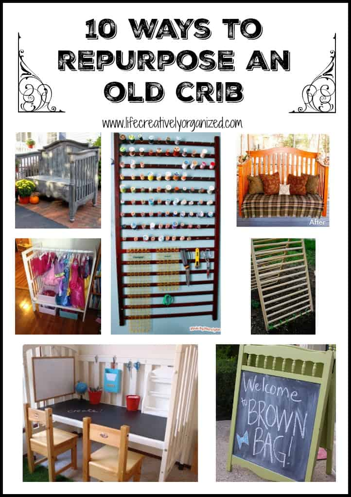 10 Surprising Ways To Repurpose A Baby Crib LIFE