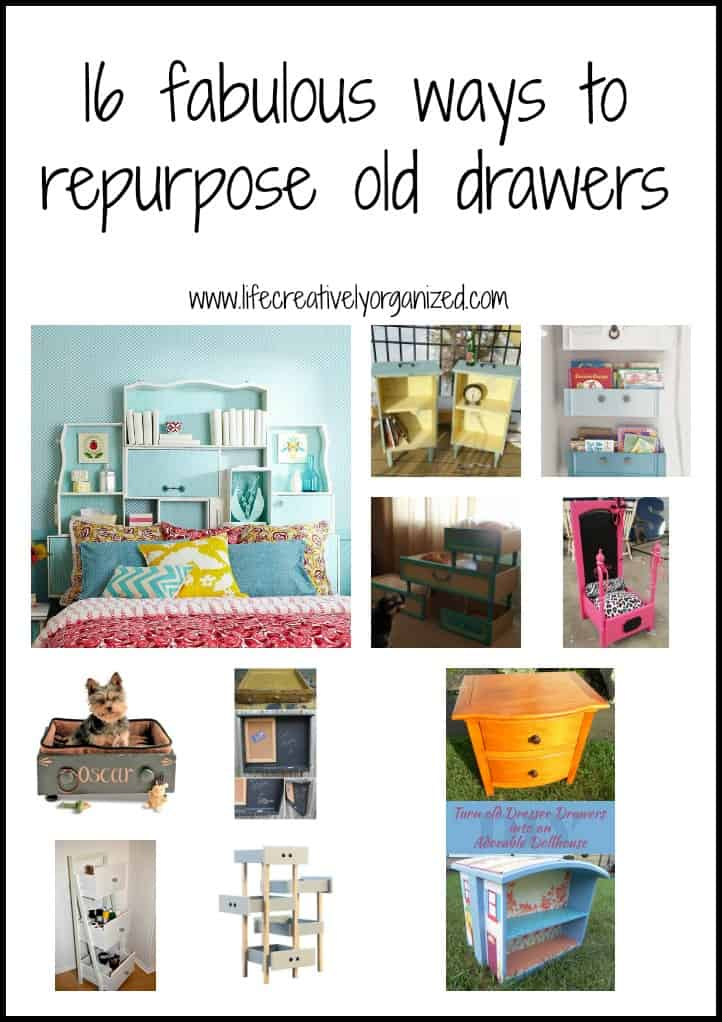 16 Fabulous Ways To Repurpose Old Dresser Drawers Life