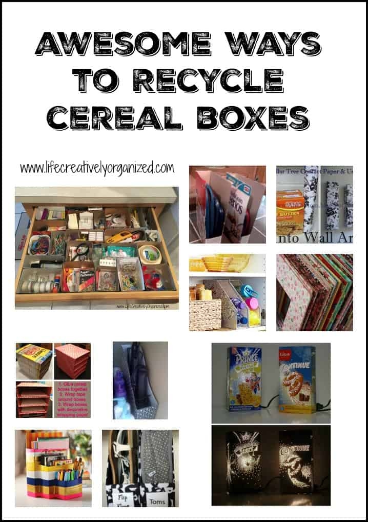 Awesome Ways To Recycle Cereal Boxes Life Creatively