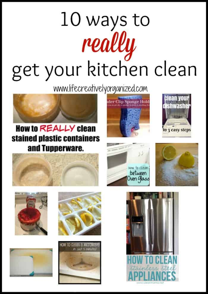 10 ways to really get your kitchen clean life for How to clean your kitchen