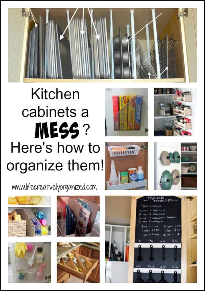Kitchen Cabinets A Mess Here 39 S How To Organize Them